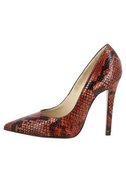 Evita - LISA - High Heel Pumps - berry