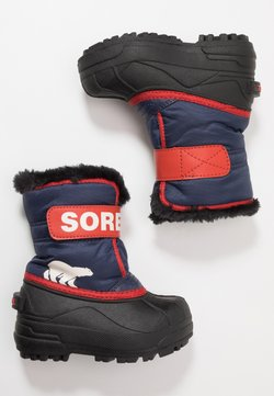 Sorel - CHILDRENS - Talvisaappaat - nocturnal/sail red