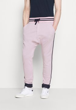 Schott - PAUL MODE - Jogginghose - stade-pink/blue/navy