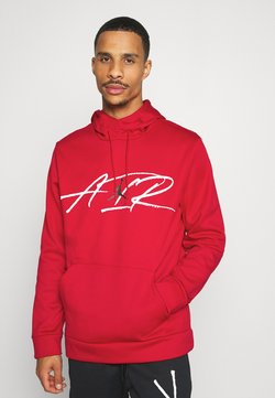 Jordan - AIR THERMA - Kapuzenpullover - gym red/black