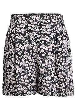WE Fashion - MET STREEPDESSIN - Shorts - dark grey