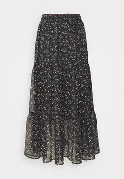 Vero Moda - VMTHALASSA SKIRT - A-snit nederdel/ A-formede nederdele - black