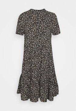Object Petite - OBJJENGA DRESS   - Skjortekjole - black