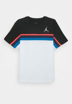 Jordan - JUMPMAN SIDELINE TEE - T-shirt imprimé - white