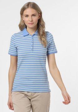 Franco Callegari - Poloshirt - blau gelb