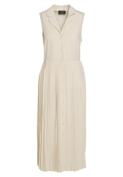 Selected Femme - MIDI DRESS - Blousejurk - sandshell