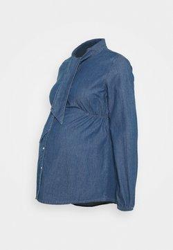 MAMALICIOUS - MLDEMI LIA - Camisa - blue denim wash