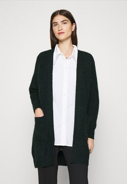 Selected Femme - SLFLULU LONG CARDIGAN - Strickjacke - scarab melange