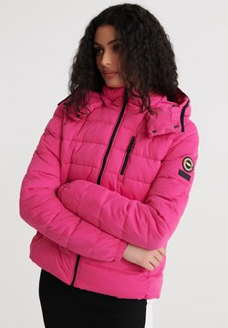 Superdry - SUMMER MICROFIBRE - Winterjacke - hot pink