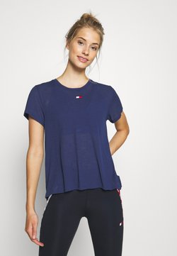 Tommy Hilfiger - PERFORMANCE - Printtipaita - blue