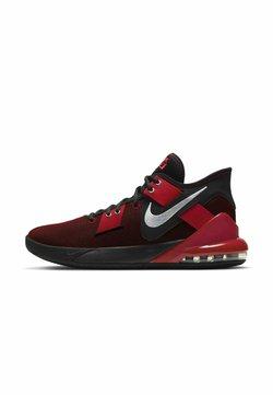 Nike Performance - AIR MAX IMPACT 2 - Basketbalschoenen - black gym red metallic silver