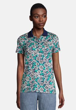 LANDS' END - Poloshirt - deep sea navy dotted floral