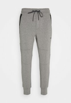 American Eagle - MANCHEGO TAPED JOGGER PANT - Jogginghose - gray