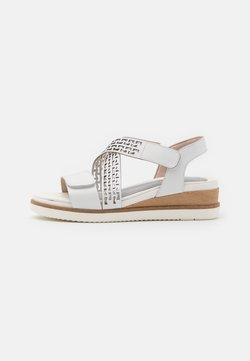 Tamaris Pure Relax - Sandales à plateforme - white