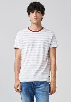 Salsa - PALM BEACH SLIM - T-Shirt print - rosa