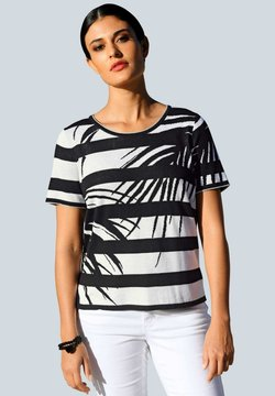 Alba Moda - Strickpullover - off-white,schwarz
