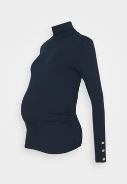 Dorothy Perkins Maternity - MATERNITY ROLL NECK  - Camiseta de manga larga - navy