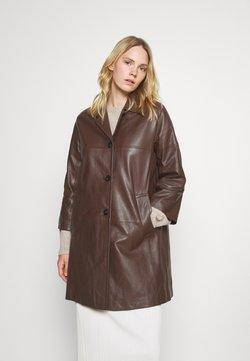 WEEKEND MaxMara - PANTONE - Leren jas - dark brown