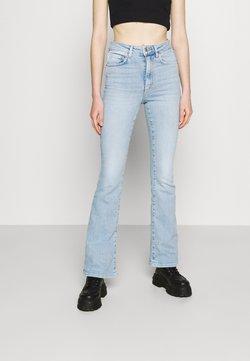 Gina Tricot - MEJA - Jeans a zampa - blue
