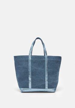 Vanessa Bruno - EXCLUSIVE SUSTAINABLE CABAS MOYEN OPTION  - Shoppingväska - blue
