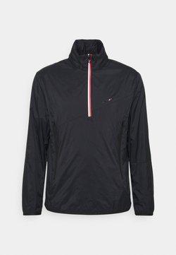 Tommy Hilfiger - 1/2 ZIP ANORAK - Training jacket - black