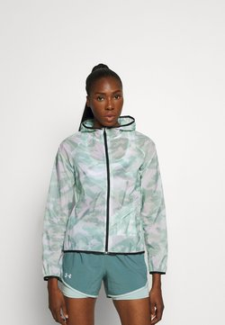 Under Armour - RUN ANYWHERE STORM  - Chaqueta de deporte - seaglass blue