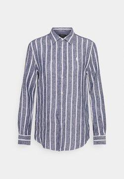 Polo Ralph Lauren - STRIPE LONG SLEEVE - Hemdbluse - navy/white
