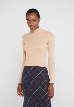 Club Monaco - JULIE TURTLENECK - Neule - latte