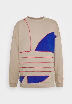 adidas Originals - BIG - Sweater - trace khaki f17/team royal blue/power pink