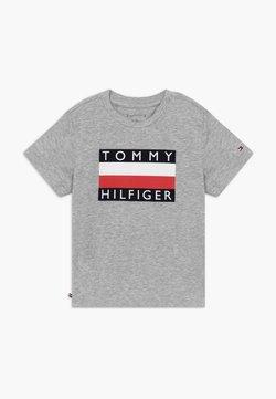 Tommy Hilfiger - BABY FLAG  - T-shirt print - grey