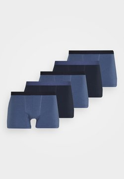 Pier One - 5 PACK - Shorty - blue/dark blue