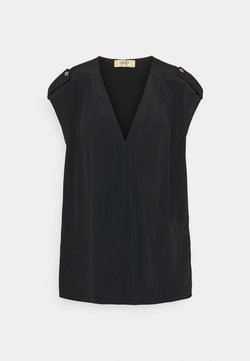 LIU JO - INCROCIATO - Print T-shirt - nero