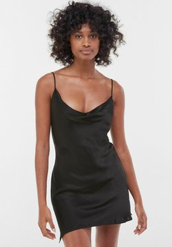 Bershka - Cocktailkleid/festliches Kleid - black