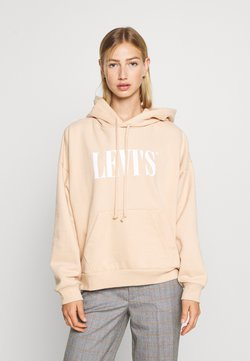 Levi's® - GRAPHIC HOODIE - Sweat à capuche - toasted almond