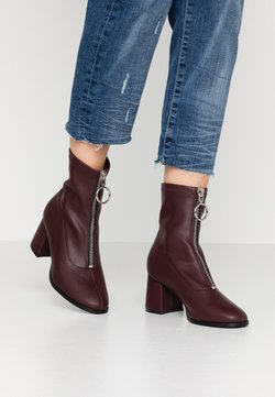 Even&Odd - Classic ankle boots - bordeaux