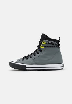 Converse - CHUCK TAYLOR ALL STAR UNISEX - Sneaker high - limestone grey/black/white