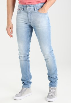 Tommy Jeans - SLIM TAPERED STEVE BELB - Jeans Slim Fit - berry light blue