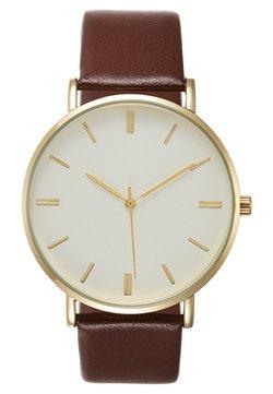 Pier One - Horloge - cognac/gold-coloured