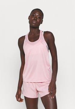 Nike Performance - MILER TANK RACER - T-shirt de sport - pink glaze/silver