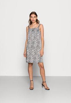 Calvin Klein Jeans - WIDE STRAPS DRESS - Cocktailkleid/festliches Kleid - beige