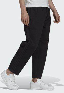 adidas Originals - TREFOIL  - Trousers - black