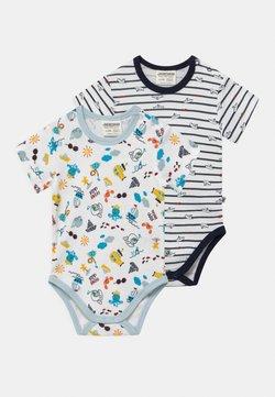 Jacky Baby - OCEAN CHILD 2 PACK - Body - white/dark blue