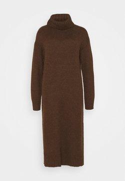 Zign - Stickad klänning - brown