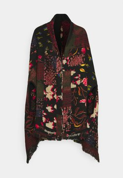 Desigual - PONCHO FREE STYLE PATCH - Cape - black