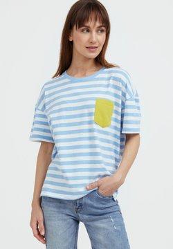 Finn Flare - T-Shirt print - light blue