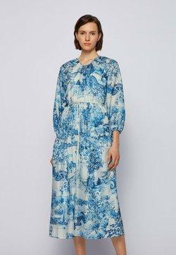 BOSS - DIVILERA - Freizeitkleid - blue, white