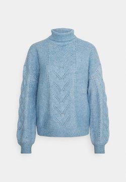 NAF NAF - ALMERINDA - Strickpullover - bleu ciel chine