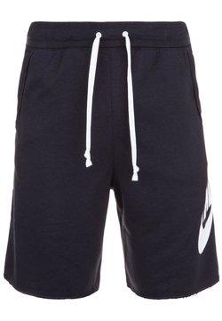 Nike Sportswear - M NSW HE FT ALUMNI - Shorts - black/white