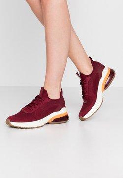 Tamaris Fashletics - LACE UP  - Sneakers laag - dark cherry