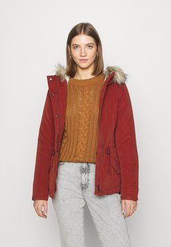 ONLY - ONLNEWLUCCA JACKET - Wintermantel - fired brick